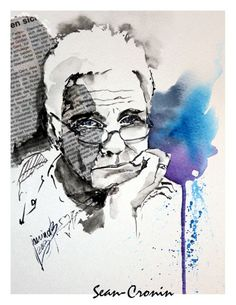 Sean Collage, Portrait, Art, Watercolor, Figurine, Art Background, Collages, Headshot Photography, Kunst