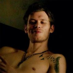 Joseph Morgan as Klaus Mikaelson - The Vampire Diaries / The Originals