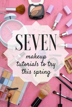 Are you looking for a new look this season? Try one of these fun makeup tutorials.
