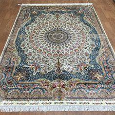 Camel Carpet Silk Beige 5.5x8 Persian Hand Knotted Rug Ca... http://www.amazon.com/dp/B01EWNZSQ6/ref=cm_sw_r_pi_dp_K8ukxb0E11EQZ