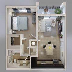 Ideas For One Bedroom Apartment Floor Plans Home Ideas