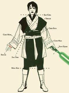 The 7 Forms of Lightsaber Combat (Part 1) | Star Wars | Pinterest ...