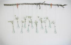 hanging branch art
