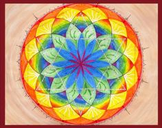 Yoga Seven Chakra Mandala Mandalamagic1 Original by mandalamagic1