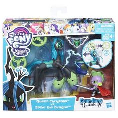 My Little Pony Guardians of Harmony Queen Chrysalis v. Spike the Dragon : Target