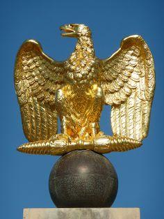 Imperial Eagle at Chateau de Fontainebleau