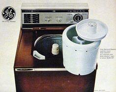 Vintage Washing Machine Clip Art