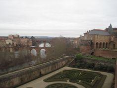 Jardín, Tarn y puente viejo