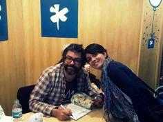 Con Liniers en la Feria del Libro de Buenos Aires - 3.5.14