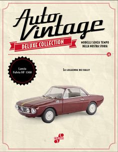 Lancia Fulvia HF 1300 (1967) #edicola #collezione #auto #vintage
