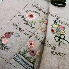 #Embroidery#stitch#needlework#Stitch book #프랑스자수#일산프랑스자수#자수#스티치북 #빈티지느낌의 MY님 스티치북~