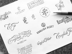 English Fleet Sketches designed by Wells Collins. Connect with them on Dribbble; the global community for designers and creative professionals. Logo Process, Typography Logo, Logos, Sketch Design, Hand Lettering, Logo Design, Sketches, Bullet Journal, Branding