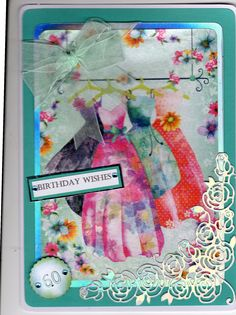 Using the hunky-dory little book, the corner is a tattered lace rose corner cut it rainbow mirri