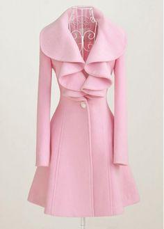 Love this pink coat