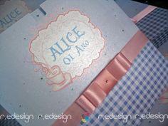 Convite Infantil - Alice -