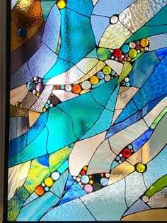 Modern Stained Glass Panels, Stained Glass Quilt, Custom Stained Glass, Stained Glass Crafts, Stained Glass Designs, Mosaic Crafts, Stained Glass Patterns, Stained Glass Tattoo, Mosaic Projects