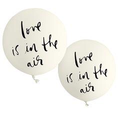 kate spade new york bridal balloon set - love is in the air - lifeguard-press