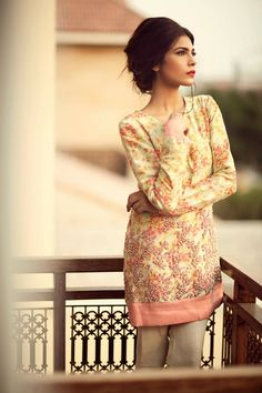 Peach salwaar kameez with embroidery Casual Formal Dresses, Casual Outfits, Fashion Outfits, Latest Pakistani Fashion, Indian Fashion, Latest Fashion, Pakistani Suits, Pakistani Bridal, Desi Clothes