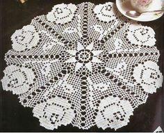 Três Toalhas de Crochê - gráfico