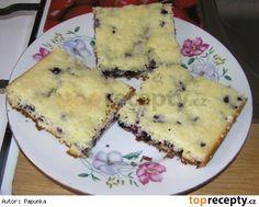 Bezlepkový borůvkový koláč s drobenkou 20 Min, Quiche, Low Carb, Gluten Free, Cheese, Breakfast, Recipes, Food, Free Stuff