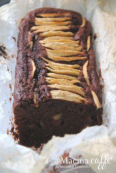 Torta mele, cacao e zenzero