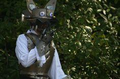 Steampunk Werewolf, top half by SolarisPhoenix.deviantart.com on @deviantART