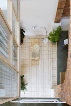 Interior Stairs, Interior Architecture, Exterior Design, Interior And Exterior, Bohemian Interior, Tiny Spaces, Beautiful Interiors, Interior Inspiration, Decoration