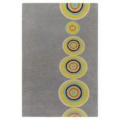 Broun Rug (8x11) Gray/Yellow bySurya