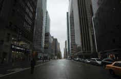 New York City, during Sandy
