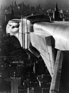 Margaret Bourke - White - Gargoyle, Chrysler Building, New York, 1929/1930