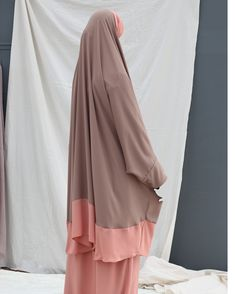 Jilbab Makkah, traditional hijab, ready to wear hijab, prayer Dress, Maxi Burqa, french khimar, hijab, tudung