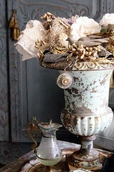Shabby chic rustic French