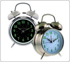 Alarm clocks are a different class altogether. These been available in various styles as well as dimensions, analog or digital, a range of buzzers, rings, radio stations, and various other noises for the alarm. They vary from the pedestrian to the swank.