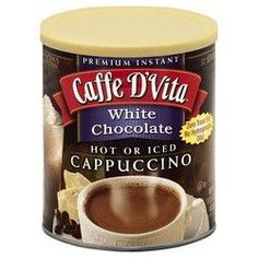 Caffe D'Vita Capuccino White Chocolate (6x16Oz)