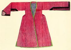 Georgian woman's garment; beginning of 19th cent., from Tiflis