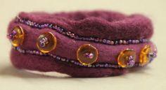 Arlenesfelt: More Felted Rope Bracelets