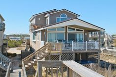 547 South Nags Head, NC Oceanfront Rental Home