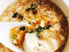 簡単とろーり癖になる。くずし豆腐の酸辣湯の画像