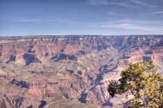 The Grand Canyon South Rim in Arizona.
