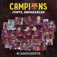 Barcdlona campeão Espanhol