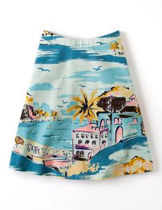 I've spotted this @BodenClothing Nancy Skirt Riviera
