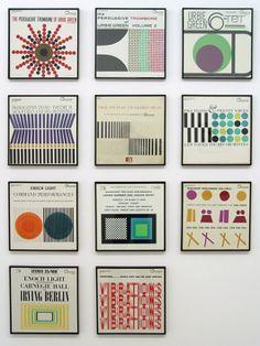 Josef Albers' LP covers