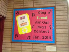 Our most recent Box Tops and Labels for Education bulletin board at school.