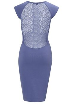 Alicia Lace Jersey Dress - Dresses - French Connection