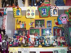 day of the dead shadow boxes | Coast Hwy Traders is the best Day of the Dead