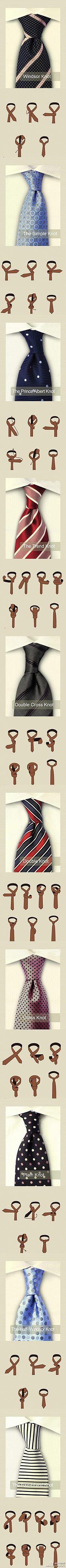 krawat na wiele sposobów ;) na Stylowi.pl