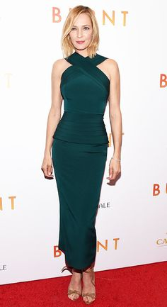 Uma Thurman in a green Brandon Maxwell dress - see who else is wearing the designer (who's also Lady Gaga's stylist)