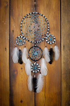 Hey, I found this really awesome Etsy listing at https://www.etsy.com/listing/265746657/feathers-bohemian-dreamcatcher-bohemian
