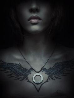 heart & wings tattoo