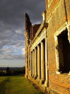 Houghton House, Bedfordshire, via Flickr. Houghton House, Archaeology, Abandoned, Creepy, Old Things, New Homes, Inspirational, History, Places